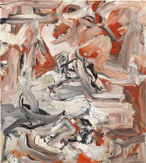 Willem de Kooning-Untitled Xvi-1976