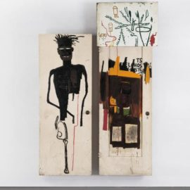 Jean-Michel Basquiat-Self Portrait-1983