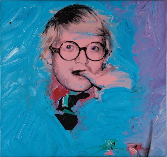 Andy Warhol-David Hockney-1974