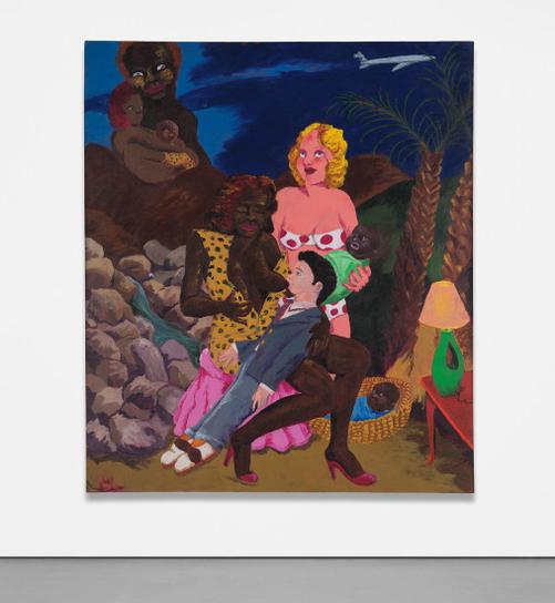 Robert Colescott-Knowledge Of The Past Is The Key To The Future: The Original-1984