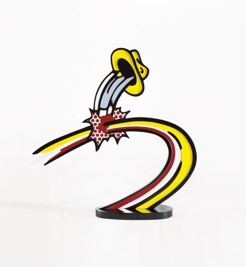 Roy Lichtenstein-Coup De Chapeau I-1996
