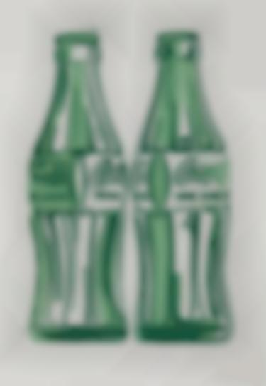 Andy Warhol-Two Coke Bottles-1962