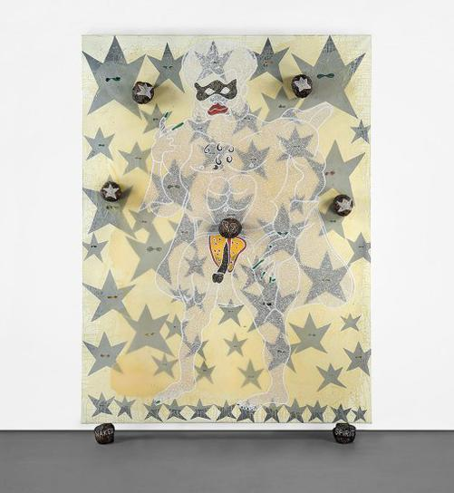 Chris Ofili-The Naked Spirit Of Captain Shit And The Legend Of The Black Stars-2001