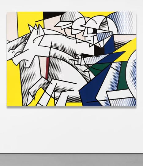 Roy Lichtenstein-Horse And Rider-1976