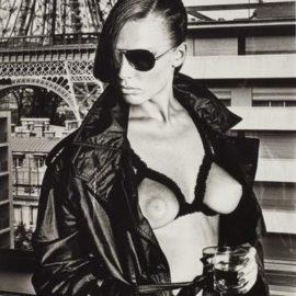 Helmut Newton-Gunilla Bergstrom, Paris-1976