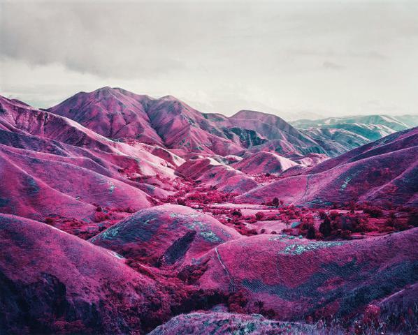 Richard Mosse-Nowhere To Run (Infra Series)-2010