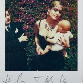 Helmut Newton-Woman Holding Doll