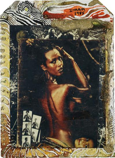 Peter Beard-Iman At Hoggers, Kenya-1985