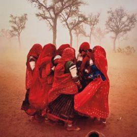 Steve McCurry-Dust Storm, Rajasthan, India-1983