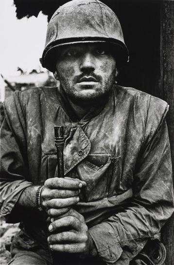 Don McCullin-Shell-Shocked Us Marine, The Battle Of Hue-1968