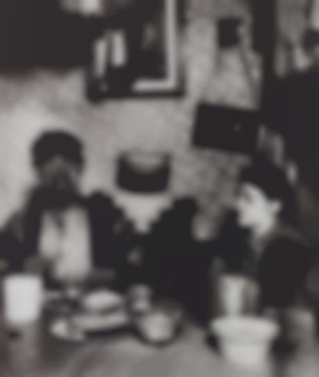 Bill Brandt-Northumbrian Miner At His Evening Meal-1937
