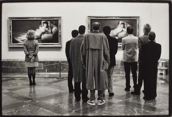 Elliott Erwitt-Museo Del Prado, Madrid-1995