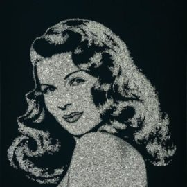 Vik Muniz-Rita Hayworth From Pictures Of Diamonds-2005
