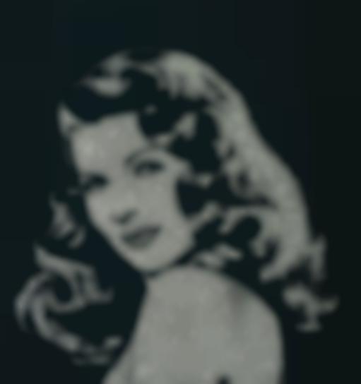 Vik Muniz-Rita Hayworth From Pictures Of Diamonds-2005