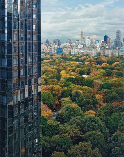 Robert Polidori-View Of Central Park From The East, New York, Ny-2004