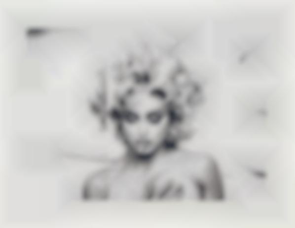 Anne Collier-Folded Madonna Poster (Steven Meisel)-2007