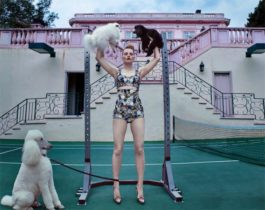 Steven Klein-Guinevere At The Pink Mansion, Beverly Hills-2017