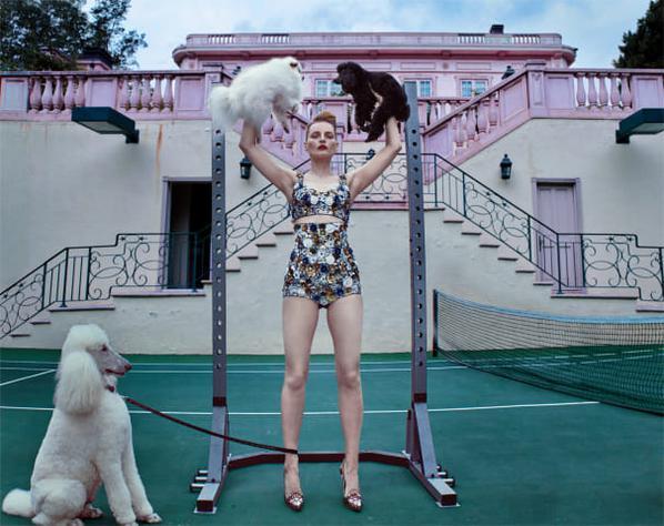 Steven Klein-Guinevere At The Pink Mansion, Beverly Hills-2017