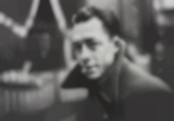 Henri Cartier-Bresson-Albert Camus, Paris, France-1944