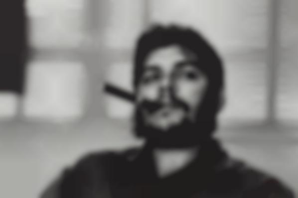 Rene Burri-Che Guevara, Havana, Cuba-1963
