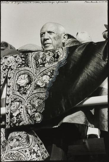 Peter Beard-Picasso At Frejus-1964