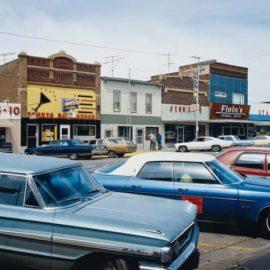 Stephen Shore-Main Street, Redfield, South Dakota, July 13-1973