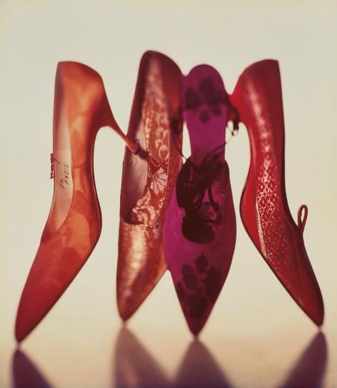 Irving Penn-Four Shoes, New York-1959