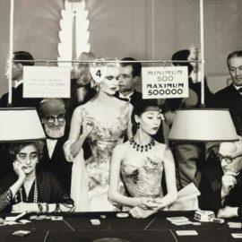 Richard Avedon-Sunny Harnett And Alla, Evening Dresses By Balmain, Casino, Le Touquet, August-1954