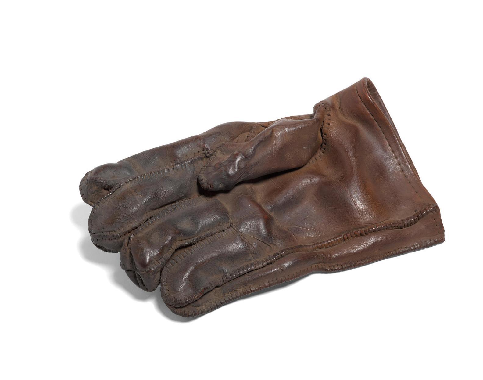 Marilyn Anne Levine-Single Glove, Tan-1987
