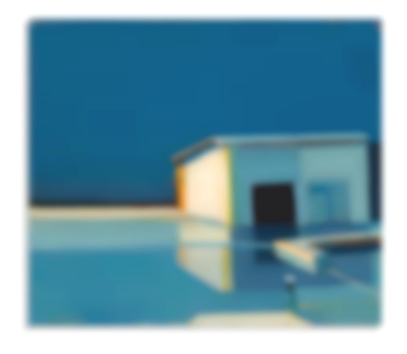 Raimonds Staprans-Boat House In Blue-1999