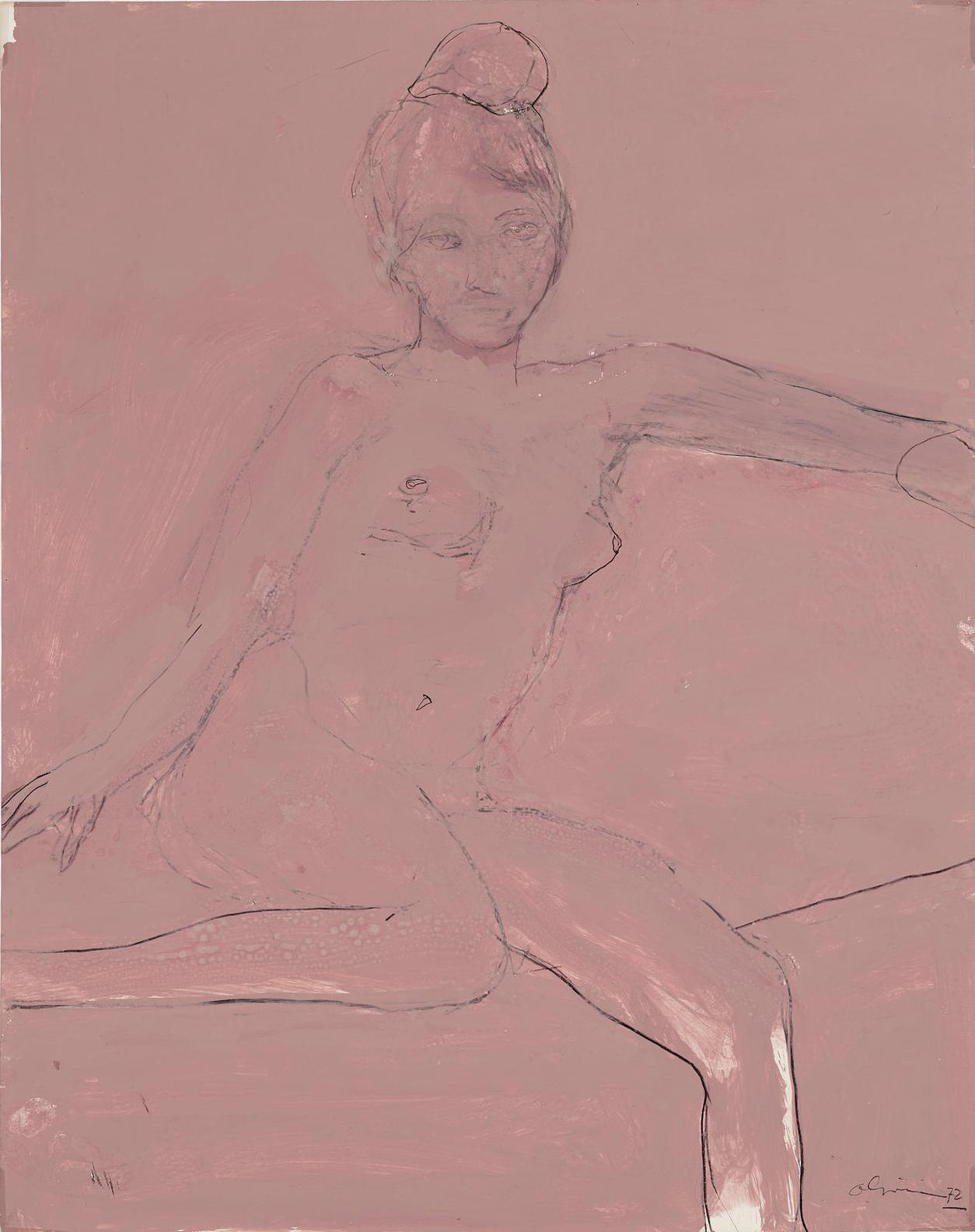 Nathan Oliveira-Untitled-1972