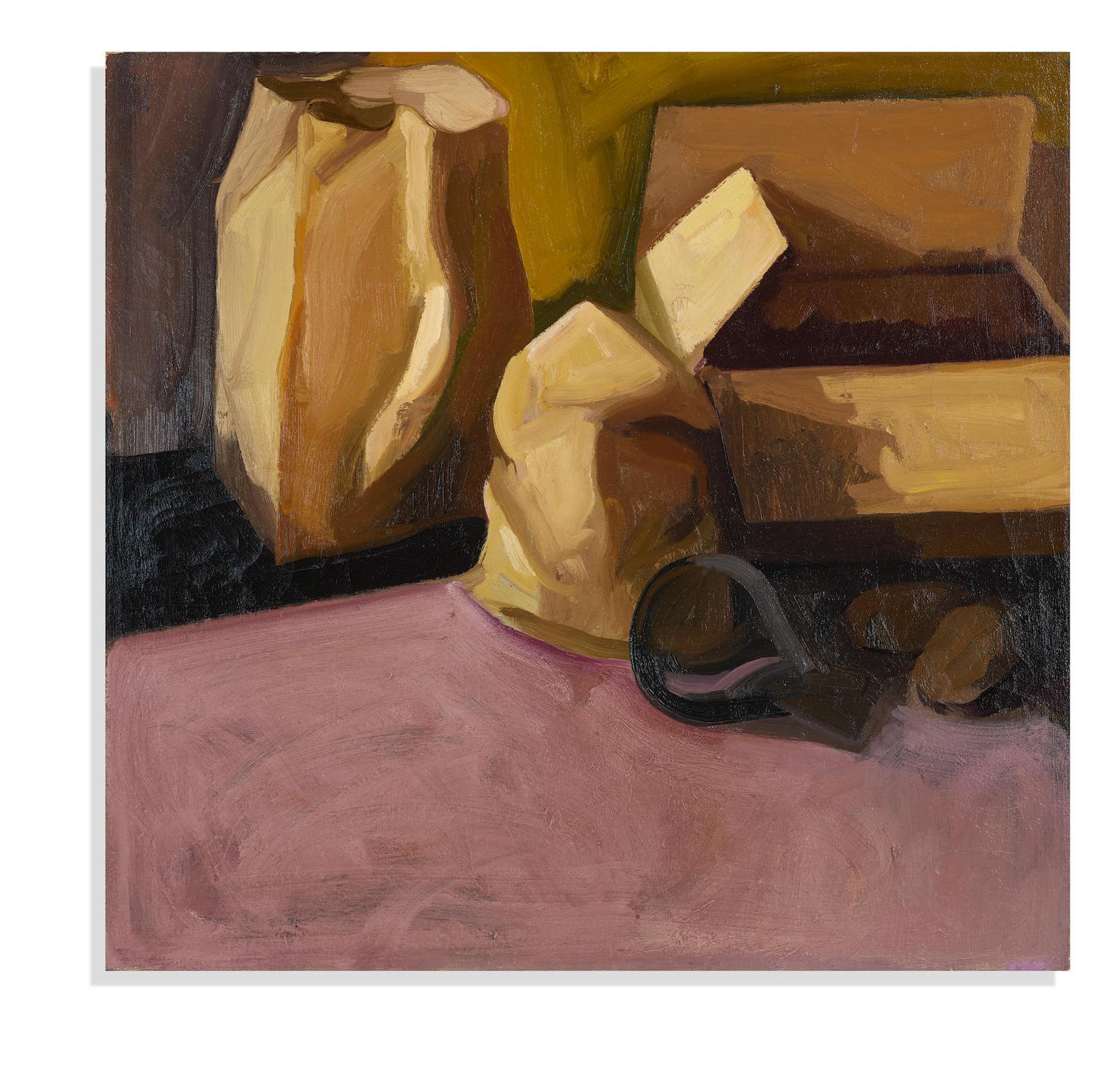 James Weeks-Still Life With Paper Bags-1961