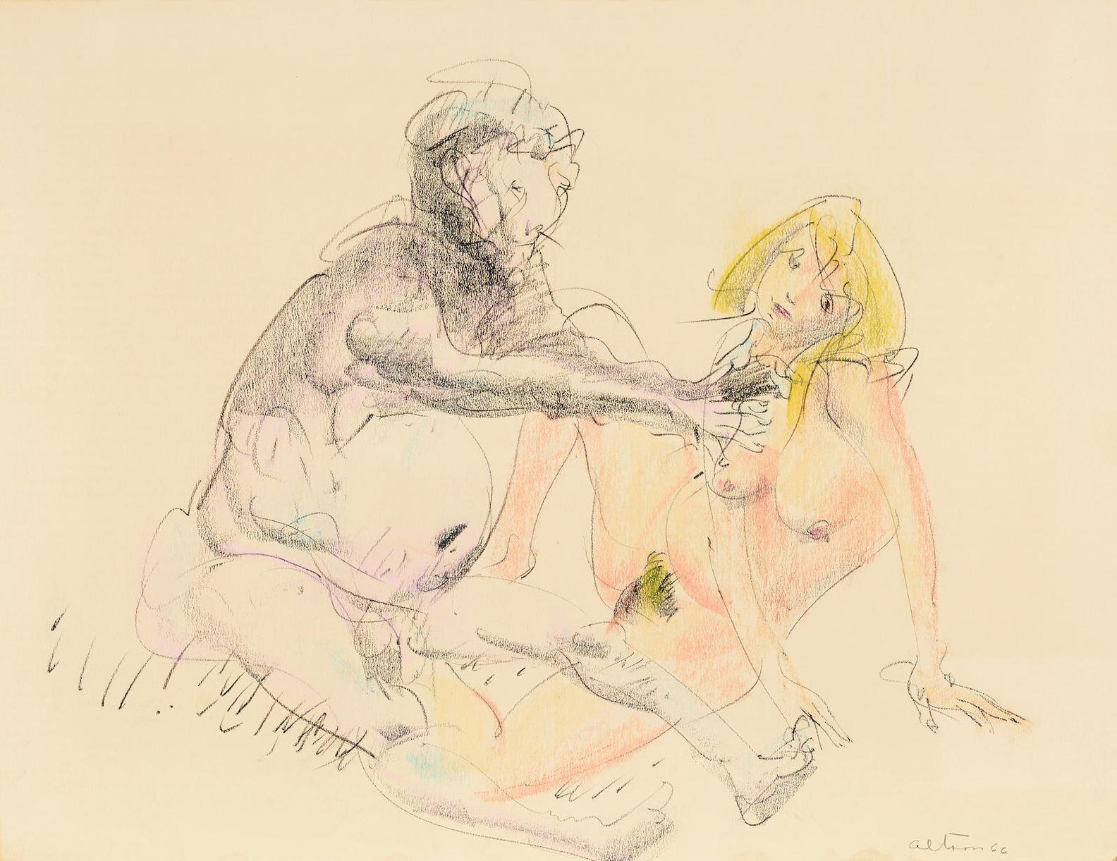 John Altoon-Untitled-1966