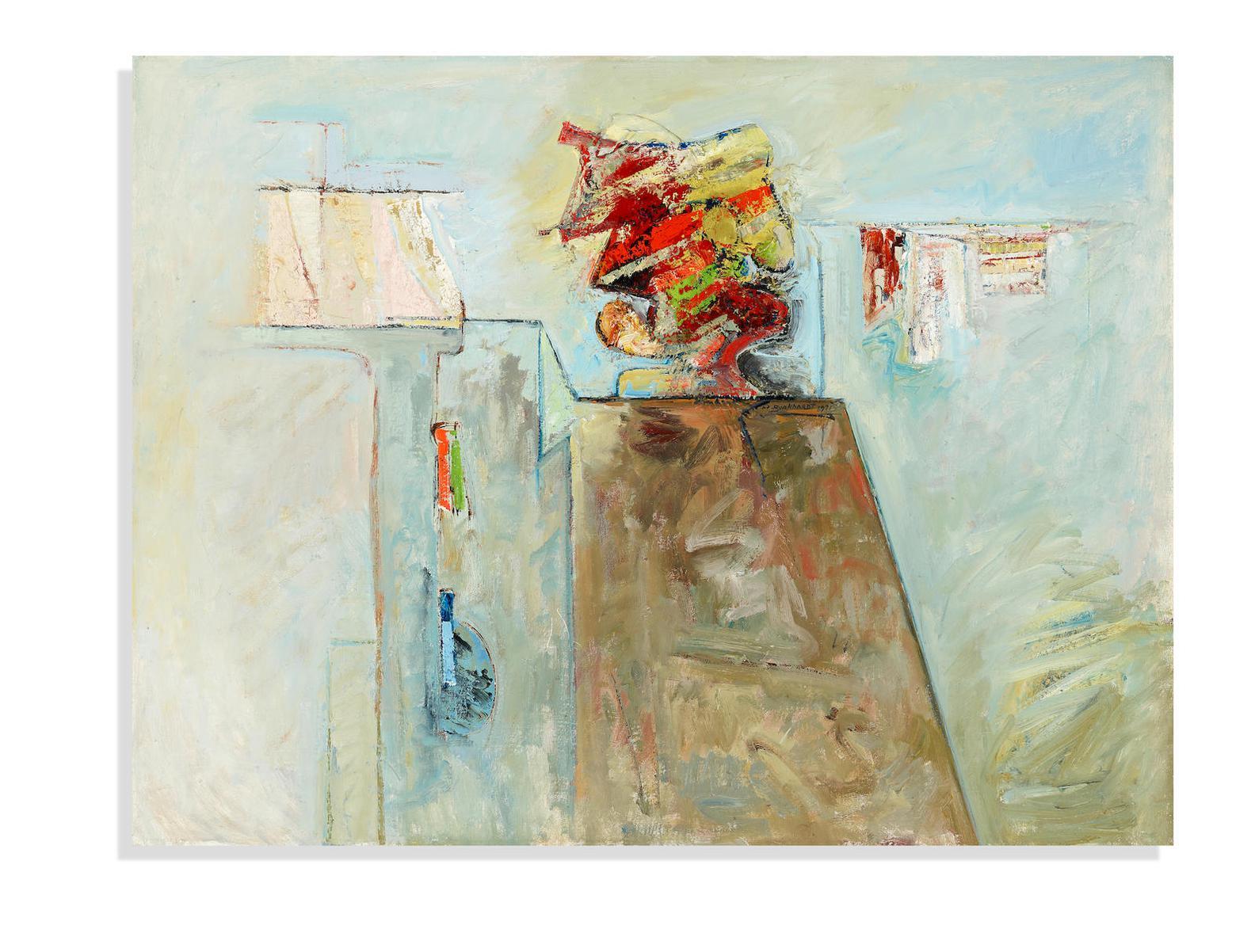 Hans Burkhardt-Untitled-1971