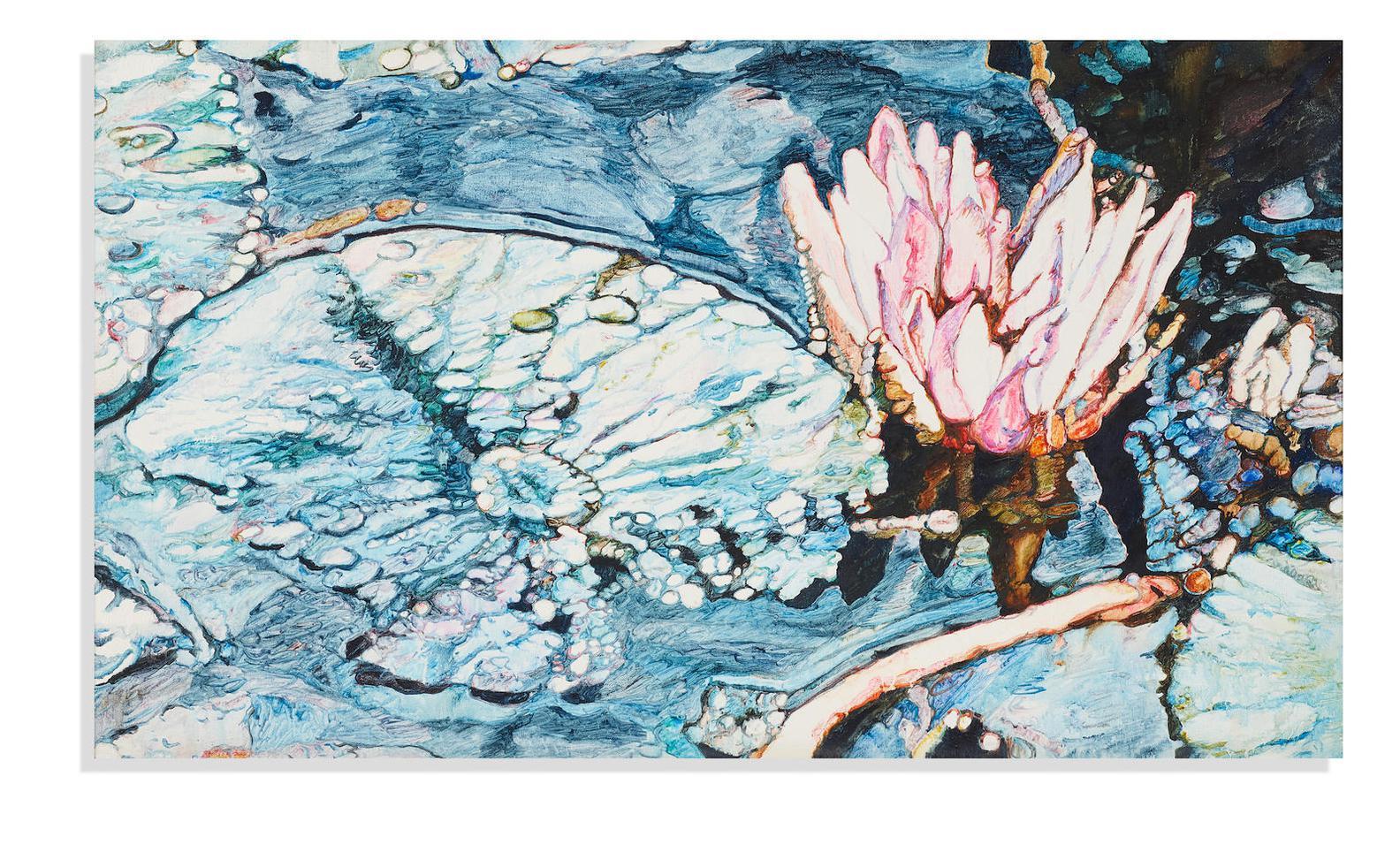 Joseph Raffael-Untitled (Water Lily)-1975