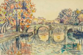 Paul Signac-Paris. Le Pont-Marie-1927