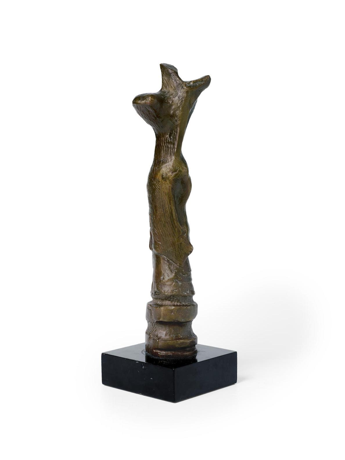 Henry Moore-Upright Motive C-1968