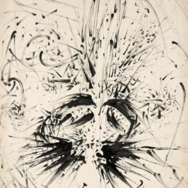 Salvador Dali-Portrait-1958