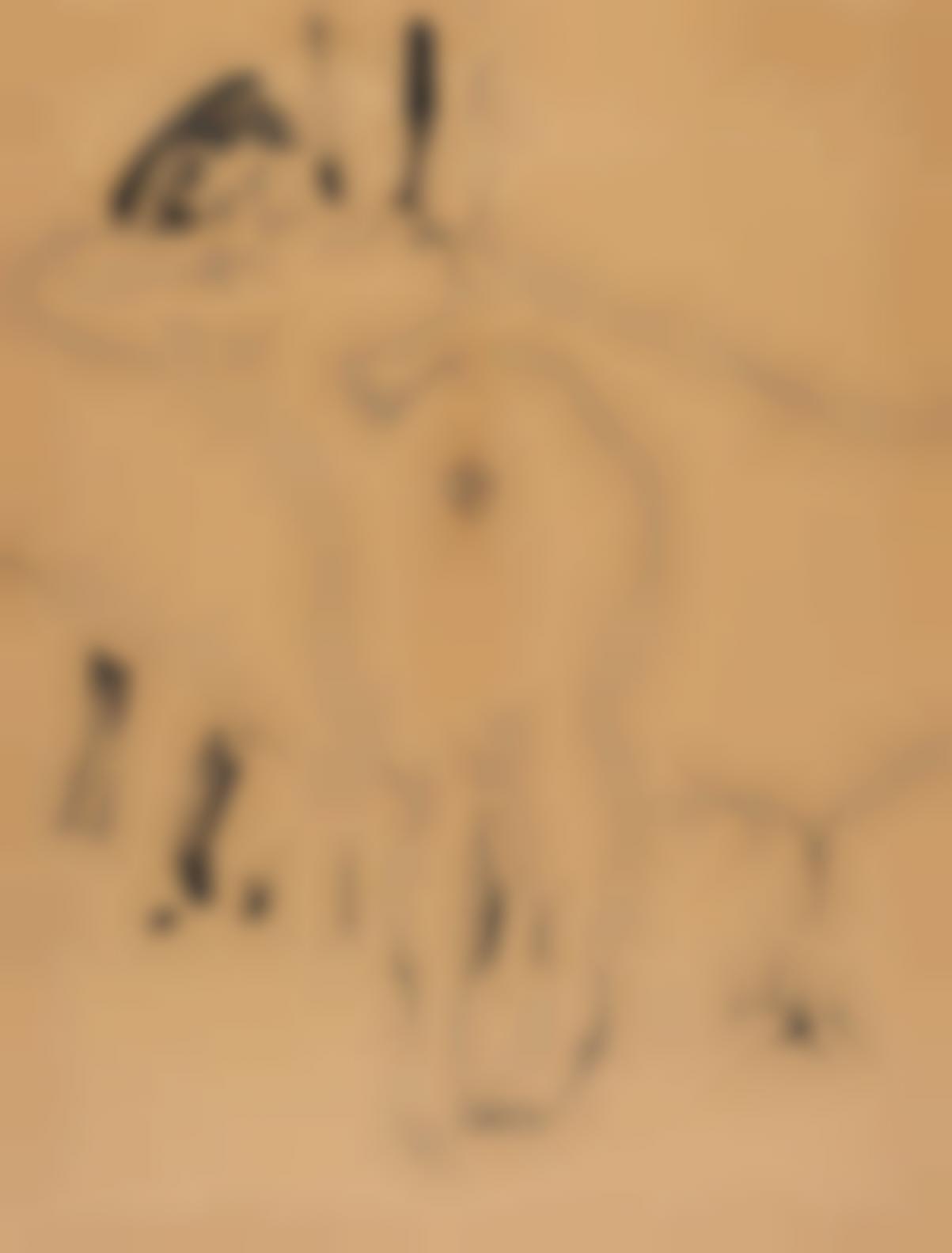 Ernst Ludwig Kirchner-Weiblicher Akt-1908
