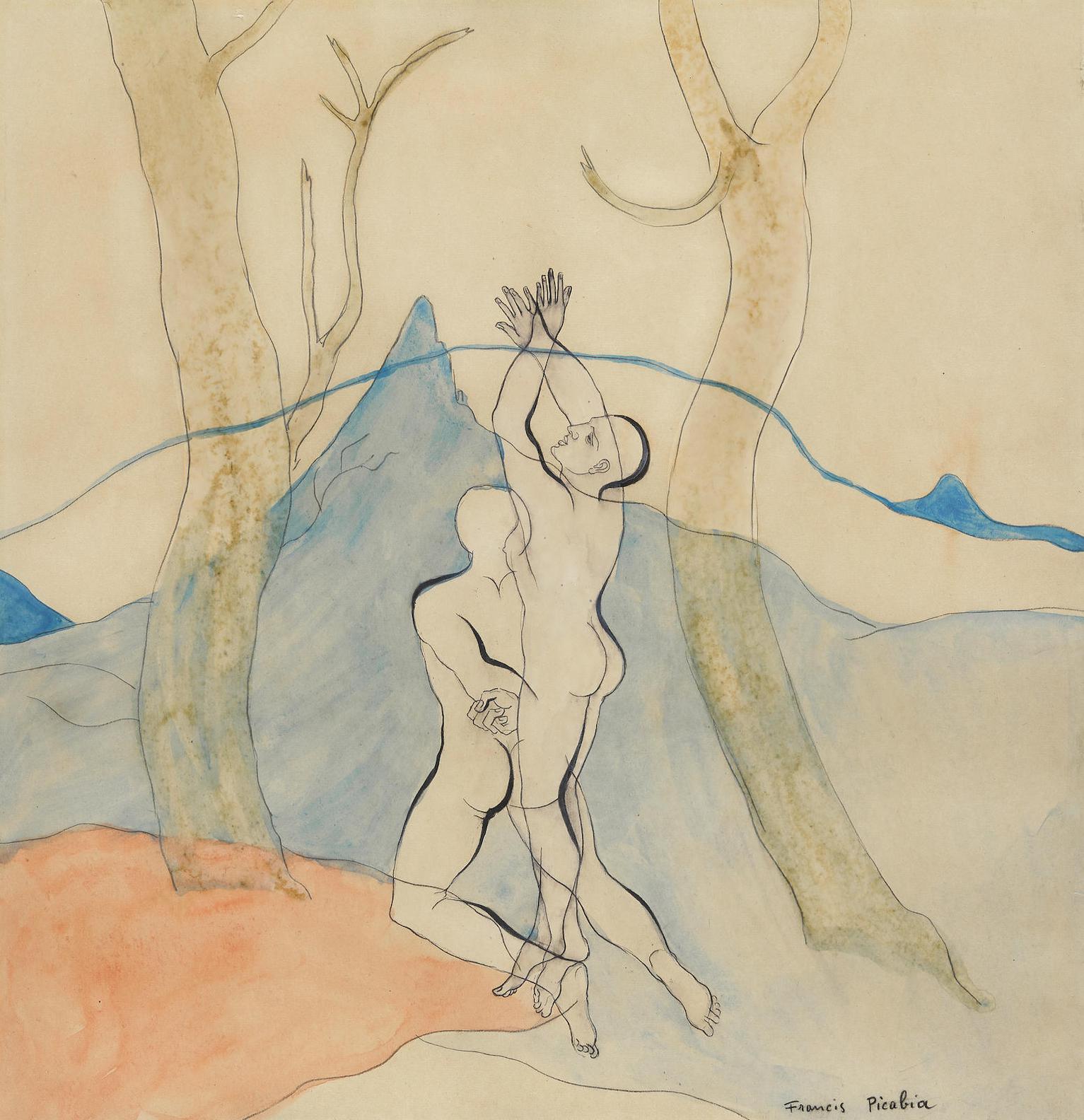 Francis Picabia-Paysage Suisse-1920