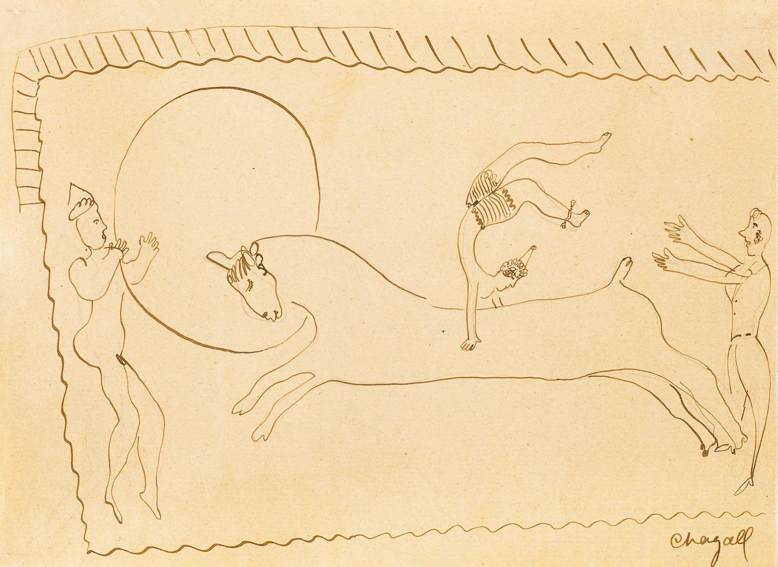 Marc Chagall-Lecuyere-1925