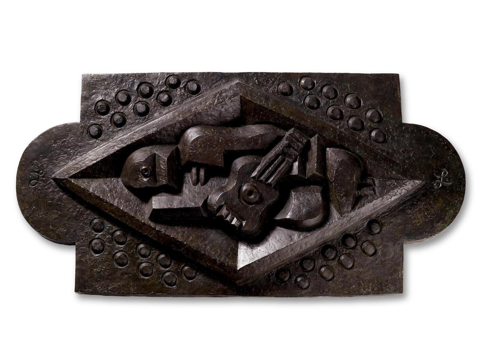 Jacques Lipchitz-Homme A La Guitare-1923