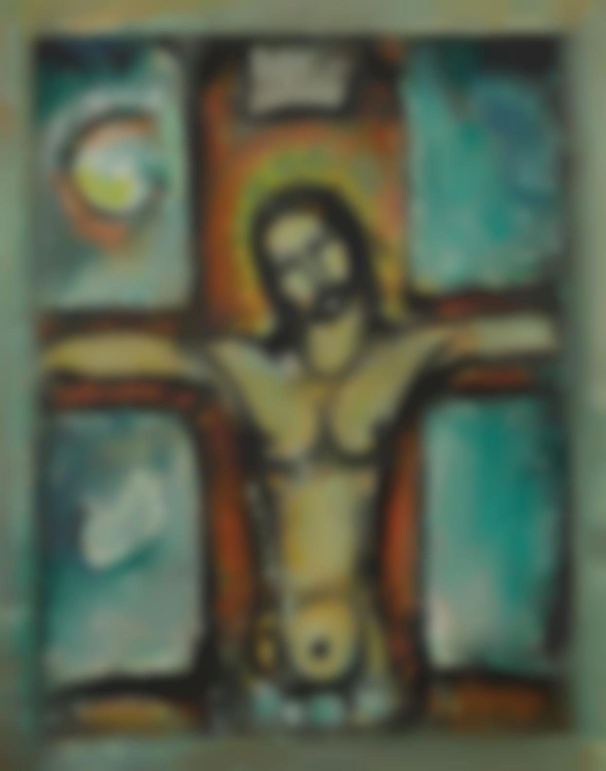 Georges Rouault-Christ En Croix-1942
