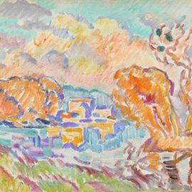Louis Valtat-La Sologne-1918