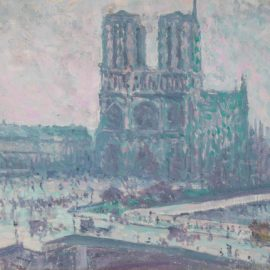 Maximilien Luce-Notre Dame De Paris-1899
