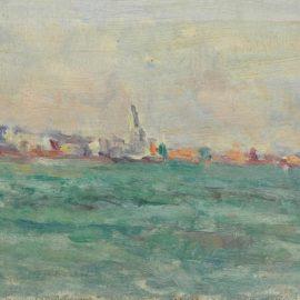 Maximilien Luce-Vue De Parame-1925