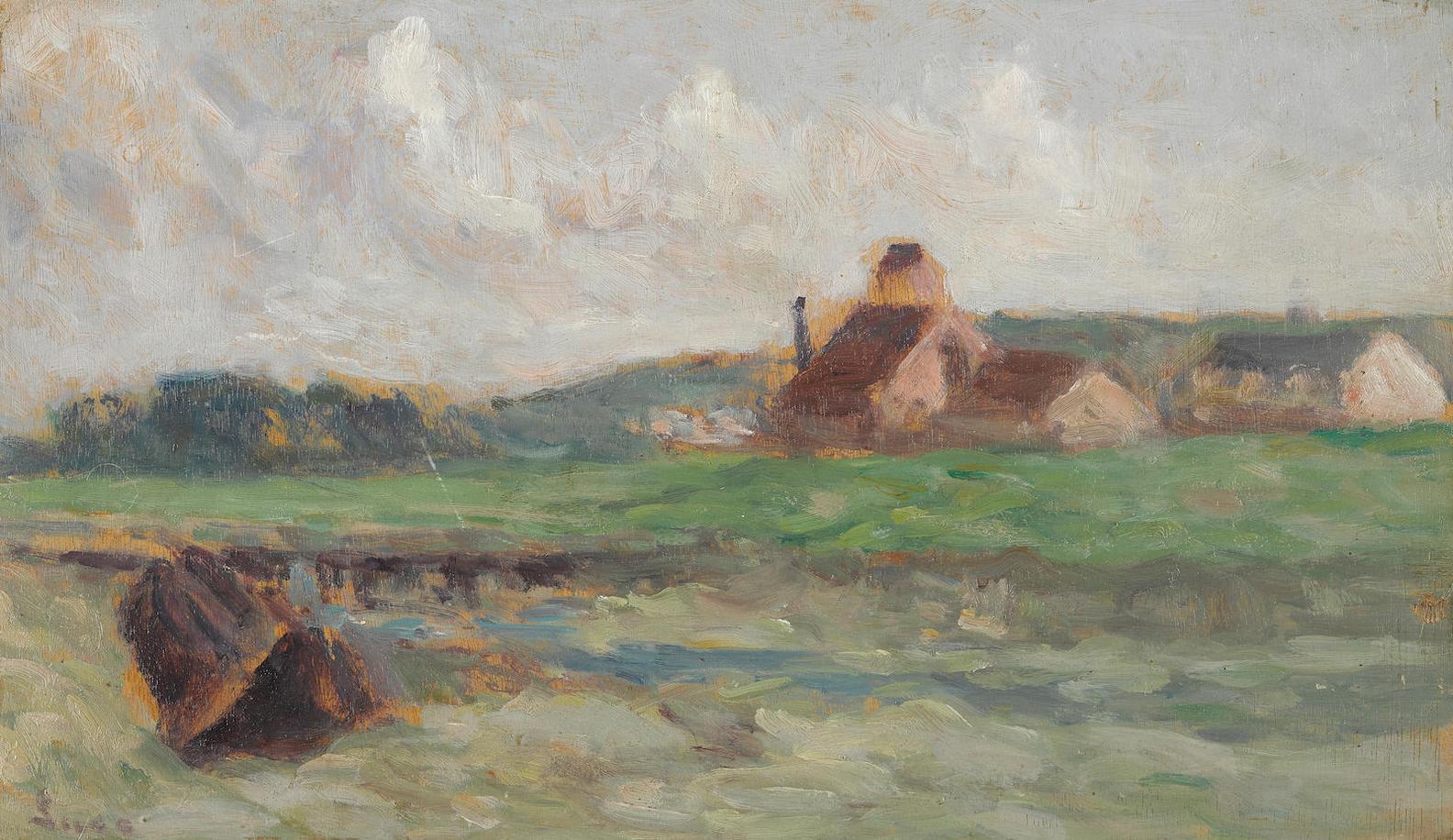 Maximilien Luce-Bords De La Bresle-1939