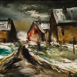 Maurice de Vlaminck-Hameau Sous La Neige