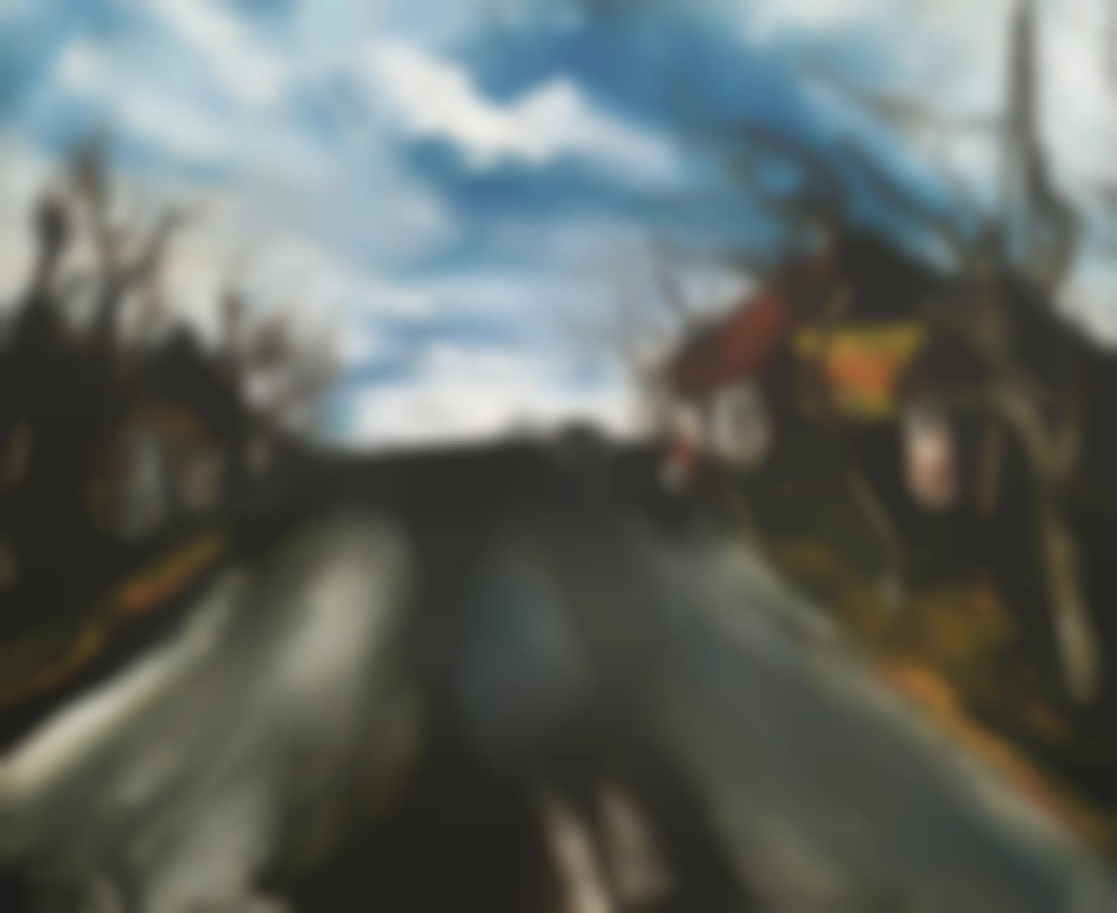 Maurice de Vlaminck-Route De Beauce-1954