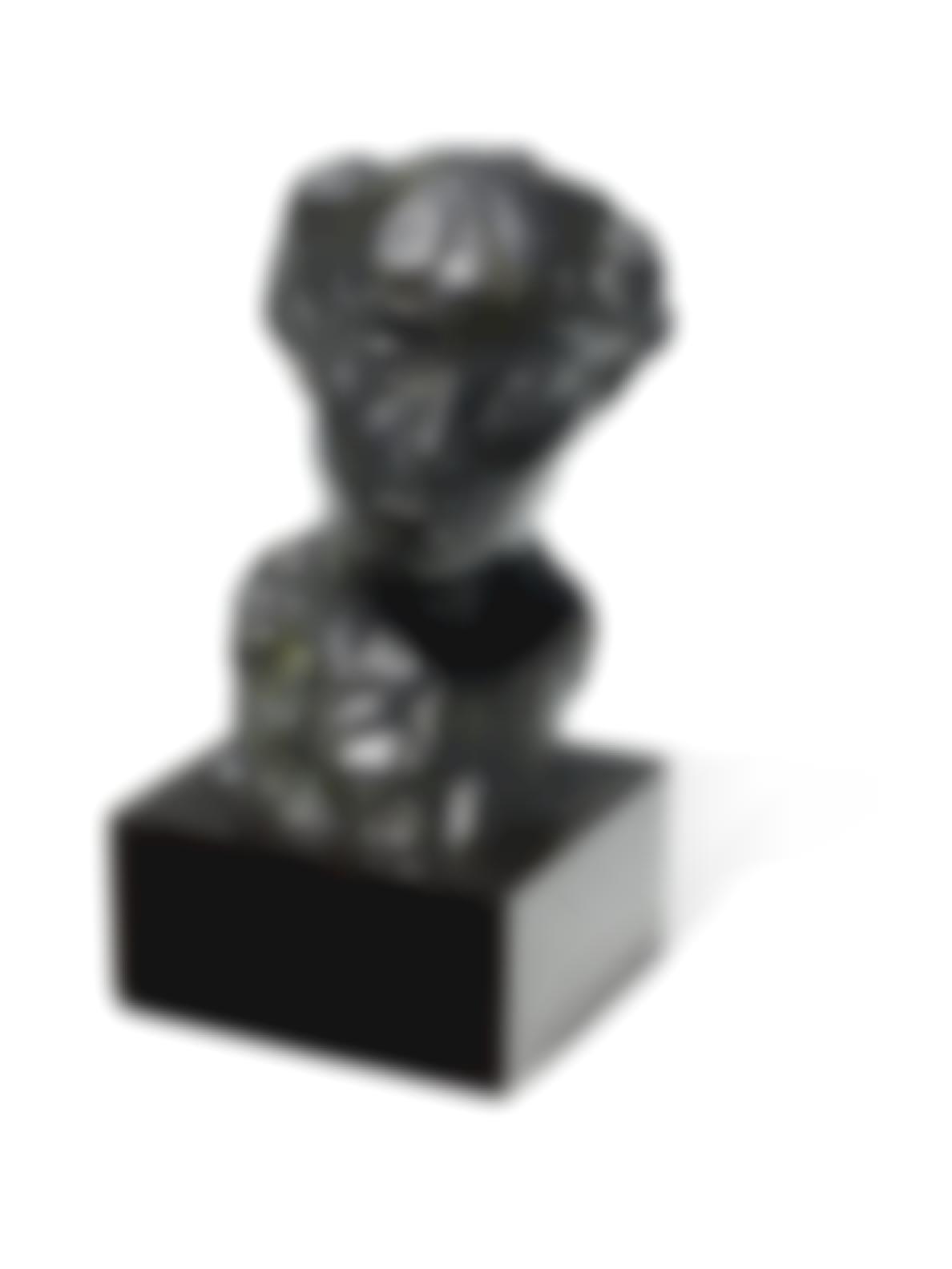 Auguste Rodin-Etude Pour Un Portrait Feminin Dit Aussi (Etude De Buste Pour Le Portrait De La Comtesse De Noailles)-1973